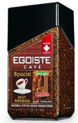 Кофе Egoiste Special растворимый с добав. молотого