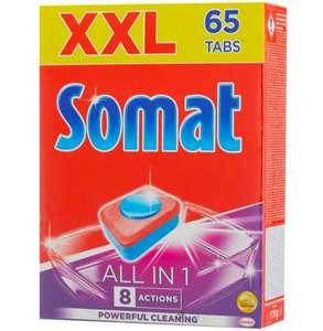 Somat All in 1 таблетки для посудомоечной машины 65 шт.