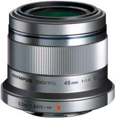 Объективы Olympus 30 и 45mm (напр. 45mm f/1.8 silver)