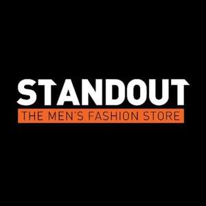 Скидка 10% в магазине мужской одежды и обуви Standout (доставка из Великобритании)