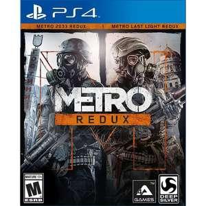 [PS4] Набор Metro Redux (Metro 2033 + Metro: Last Light + бонусный контент)