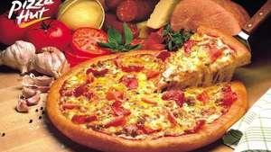 Вторая Пицца за 1₽ в Pizza Hut при покупке первой