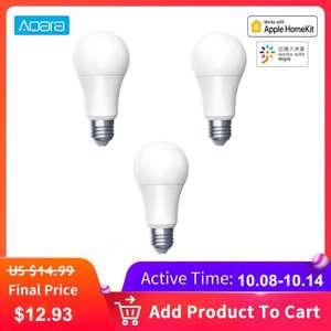 Светодиодная лампа Aqara LED Smart Bulb 9W E27 за 11.93$