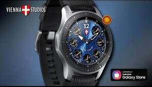 Циферблат для Smartwatch в Samsung Galaxy Store (VIENNA STUDIOS HyperHybrid)