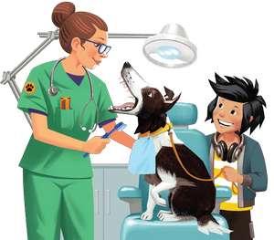 Лакомство DENTASTIX за участие в акции «Месяц здоровых зубов»