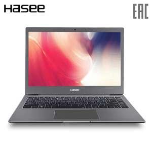 "Ультратонкий ноутбук Hasee X3 13.3"" (Intel dual core celeron 3865u/256 gb ssd/ 8gb ram/ no Windows (Tmall)"