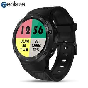 Zeblaze Thor 4 4G Smart Watch Phone GPS WiFi Android 1 GB + 16 GB 5MP Camera