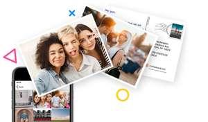 Почтовая открытка БЕСПЛАТНО в приложении MyPostcard