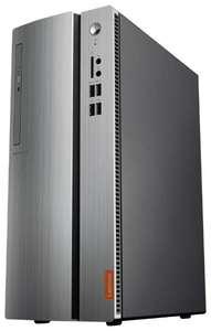 Настольный компьютер Lenovo 510S-07ICB (90K8001VRS) Mini-Tower/Intel Celeron G4900/4 ГБ/128 ГБ SSD/Intel UHD Graphics 610/DOS