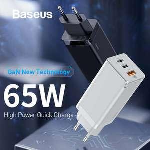 Зарядное устройство Baseus GaN 65 Вт