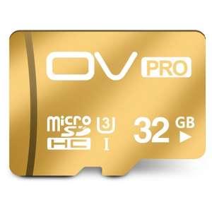 Micro SDHC карта памяти OV на 32 Гб за 10$