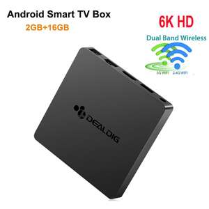 ТВ приставка DEALDIG BOXD6 3/32 ГБ Amlogic S912 за 30.75$