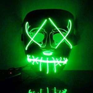 LED маска с контроллером за $6.29