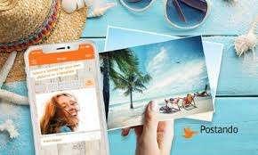 Почтовая открытка БЕСПЛАТНО в любую страну [Приложение Postando Android & iOS]