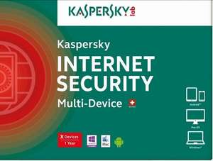 Kaspersky Internet Security (1 год/2 устройства)