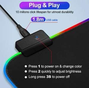 [11.11] Коврик для мыши IMice с RGB окантовкой