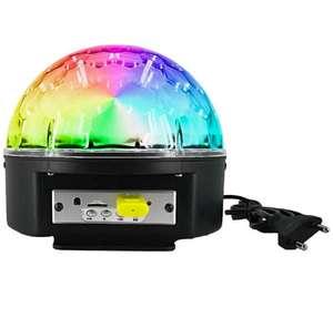 Светодиодный диско-шар с блютуз LED Crystal Magic Ball Light
