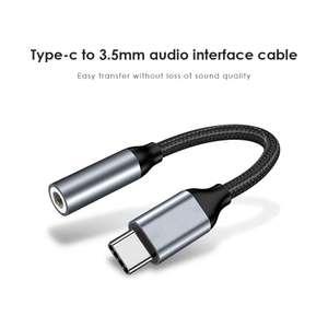 Переходник type c to 3.5mm aux audio