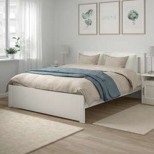 Кровать с основанием СОНГЕСАНД (+ с ящиками в описании)
