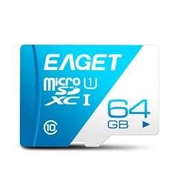 Eaget T1 UHS-I Micro SDXC Карта памяти TF Card 100 МБ / с - 64 ГБ