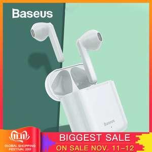 [11.11] Беспроводные наушники Baseus W09 (с сенсорным управлением)