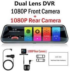 """[11.11] Зеркало-регистратор OLESED T95S 10"""" FHD (две камеры 1080p) с купоном за 43.24$"""
