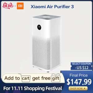 Очиститель воздуха Xiaomi Air Purifier 3-z версия за $135.99