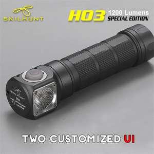 Налобный фонарик Skilhunt H03 SE за 31.99$