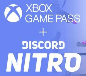 Xbox game pass на 3 месяца подписчикам discord nitro premium