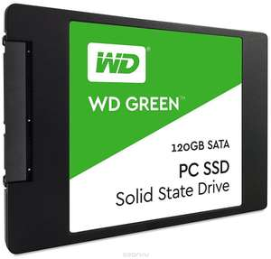 "SSD диск WD Green 2.5"" 120GB"