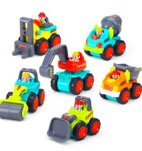 Набор из 6 игрушечных машинок/техники за 15.99$