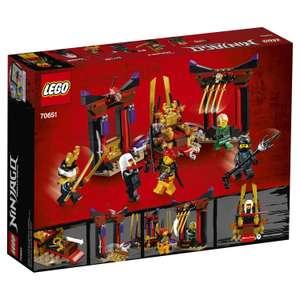 LEGO Ninjago - Решающий бой в тронном зале (70651)