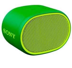 [не все города] Портативная колонка Sony SRS-XB01 (зеленый)