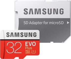 Карта памяти Samsung 32gb+SD adapter