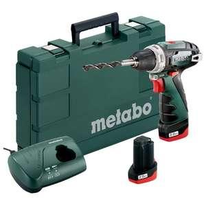 Аккумуляторная дрель-шуруповерт Metabo PowerMaxx BS 2014 Basic 2.0Ah x2 Case