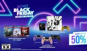 [США] Чёрная пятница Sony PlayStation в Фирменном магазине Sony