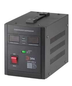 Стабилизатор напряжения однофазный ЭРА СНПТ-2000-Ц