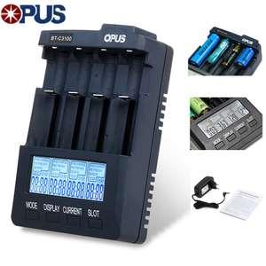 Универсальное зарядное устройство Opus BT-C3100 v2.2 за 27.5$