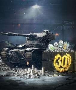 World of Tanks Blitz Mega Pack (strv 74a2 + 30д. прем + 10 камо + 1 млн серебра)