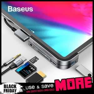Type-C на USB 3,0 HDMI usb-хаб Baseus для iPad