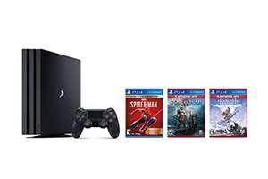 PS4 Pro 1TB - Horizon+God of War+ Spider Man   Прямая доставка