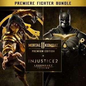 Mortal Kombat 11 premium edition + Injustice 2 legendary edition для ps4 для подписчиков ps+