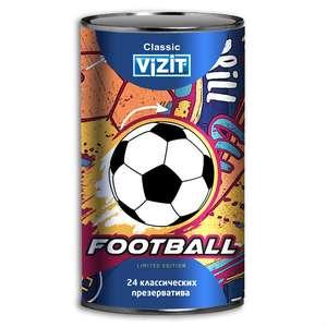 Презервативы VIZIT Classic Football классические, 24 шт