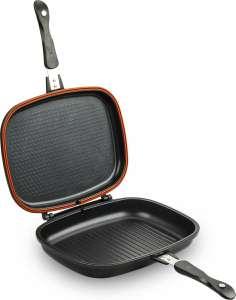 Сковорода-гриль Tefal Ideal, черный, двухсторонняя, 32 х 24 см