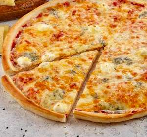 2 Берега. Пицца 4 сыра за 13р при заказе на 1300 р