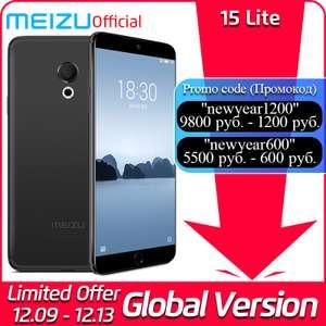 Глобальная версия Meizu 15 Lite 4 GB 64 GB