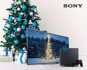 PS4 + год подписки Кинопоиск за покупку акционный телевизоров SONY (напр. к Sony KD55XF8596)