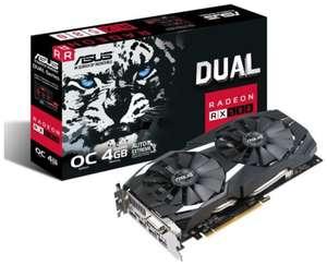 ASUS Radeon RX 580 DUAL OC DUAL-RX580-O4G 4.0 GB OC Enthusiast