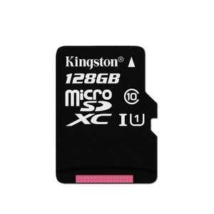 Kingston 128GB UHS-I Class 10 Micro SDXC Карта памяти 80 МБ / с