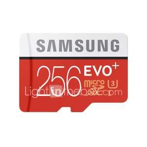 Карта памяти Samsung 256GB Micro SD UHS-I U3 Class10 EVO Plus за 71.14$
